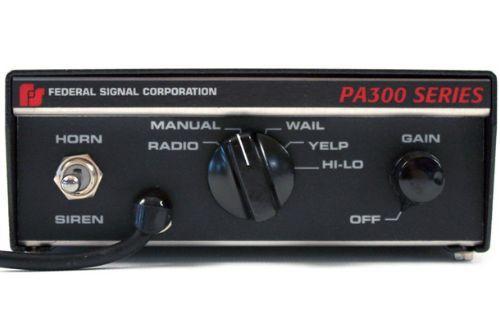 Federal Signal PA300 SIREN - Israel Ambulance MDA