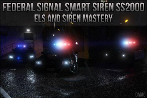 LAPD Federal Signal Smart Siren SS2000