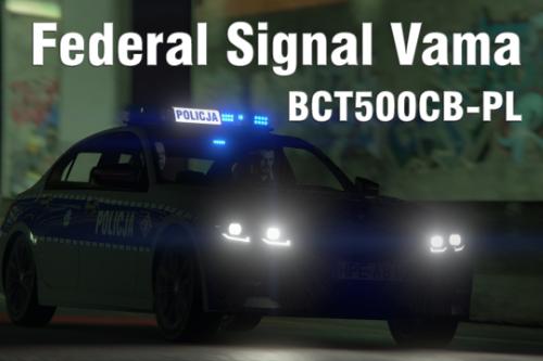 Federal Signal Vama BCT500CB-PL
