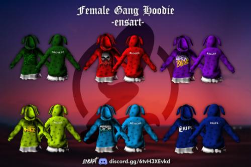 Female Gang Hoodies for MP Female