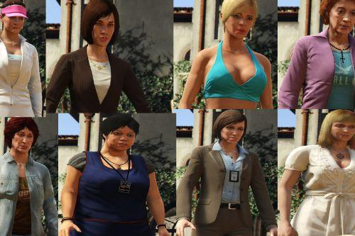 Female Model Pack