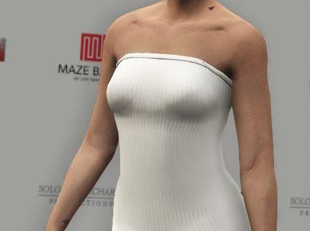 Female mp mini dress
