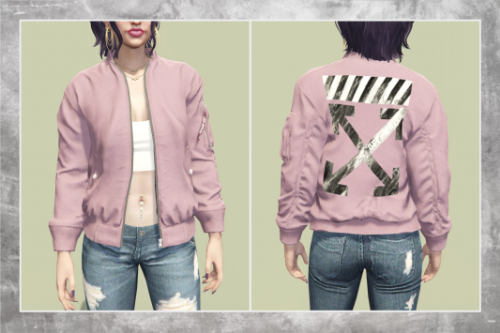 OFF-WHITE Jacket for MP Female