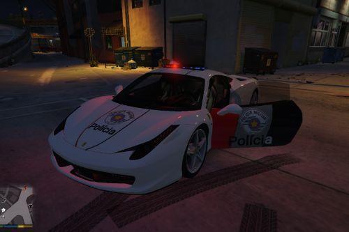 Ferrari 458 Italia da PMESP