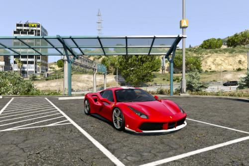 Ferrari 488 GTB Livery - The Schumacher