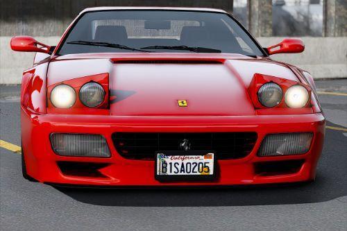 Ferrari 512 TR 1991 [Add-On]