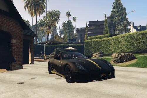 Ferrari 599 GTO | Black, Carbon & Gold (Livery)