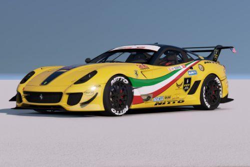 [Ferrari 599XX EVO]Formula Drift livery