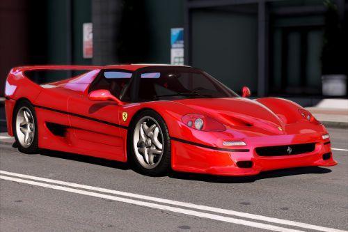 1995 Ferrari F50 [Add-On | Extras | Template]