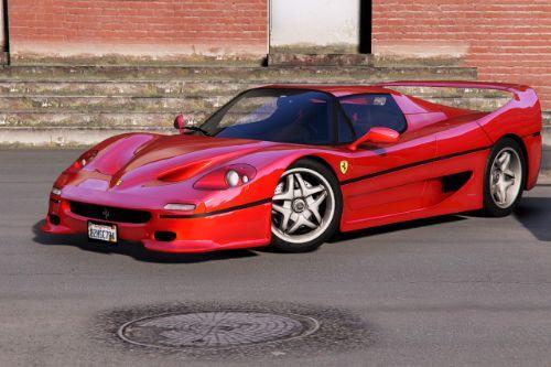 1995 Ferrari F50 [Add-On   Extras   Template]