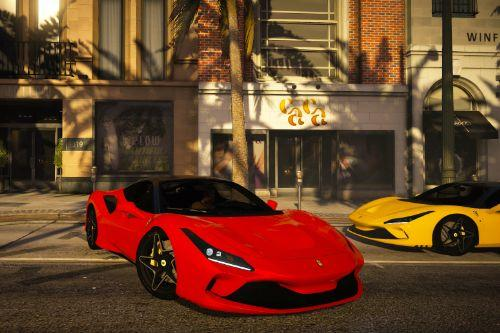 Ferrari F8 Tributo [Add-On]