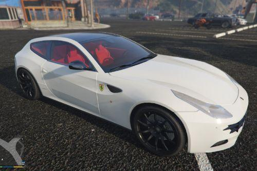 2014 Ferrari FF with Red Seats