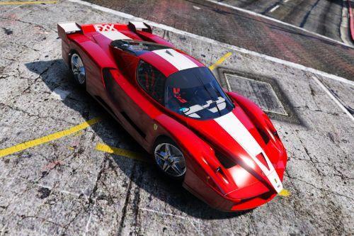 Ferrari FXX 2005 [Add-On / Replace | Template | Wiper | OIV]