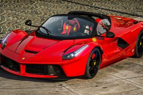Ferrari LaFerrari Aperta 2017
