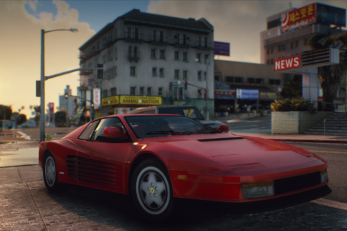 Ferrari Testarossa 1986 [Add-On]