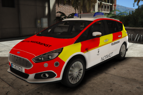 Feuerwehr München NEF Ford S-Max Paintjob [ELS]