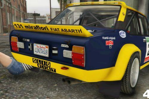 Fiat 131 Mirafiori (Rally)