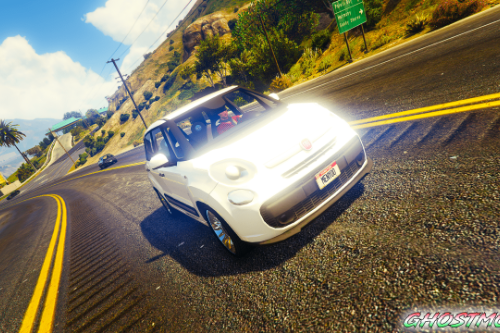 Fiat 500L [Add-On / Replace / FiveM]