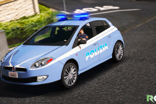 Fiat Bravo - Polizia di Stato [ADD-ON - Replace]