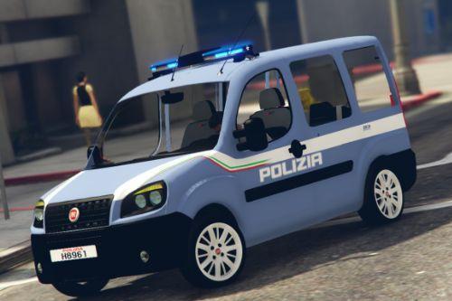 Fiat Doblo Multi Jet 2008 Polizia di stato [ELS]
