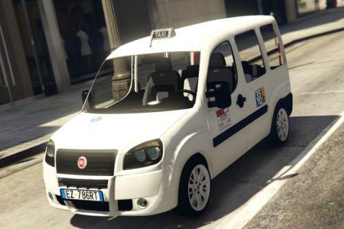 Fiat Doblo Multi Jet 2008 Taxi - Roma Capitale