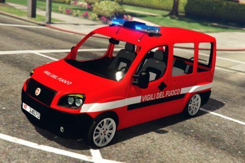 Fiat Doblo Multi Jet 2008 Vigili del fuoco - VVF [ELS]