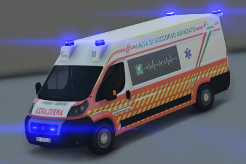 Fiat Ducato - Ambulanza ANPAS