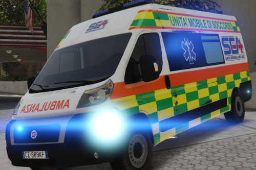 Fiat Ducato - Ambulanza SEA