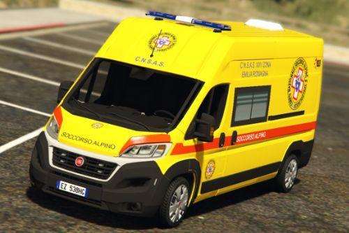 Fiat Ducato - Ambulanza Soccorso Alpino / Sanitario | [ELS]