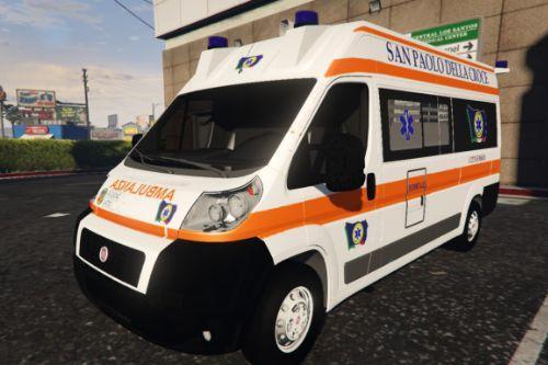Fiat Ducato  San Paolo della croce - Regione Lazio - 118 | [ELS]