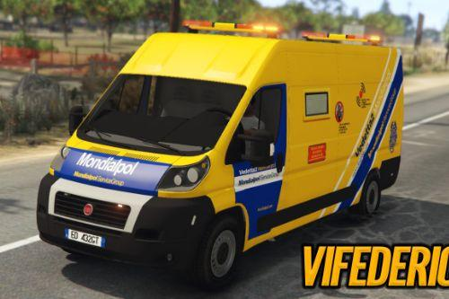 Fiat Ducato - Vedetta Mondialpol | Porta Valori | [ELS]