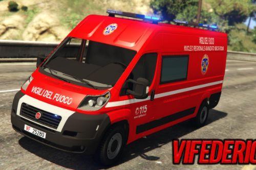 Fiat Ducato - Vigili del fuoco | NBCR - Roma [ELS]