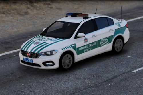 Fiat Egea Otoyol Trafik Polisi Turkish