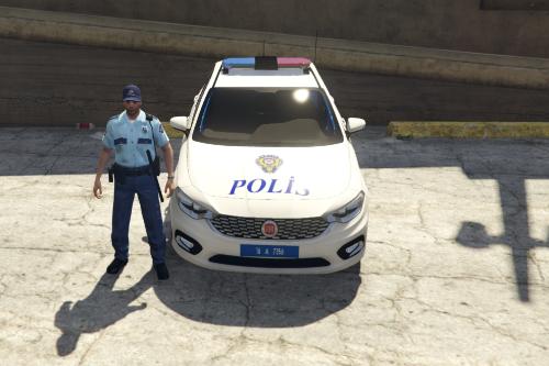 Fiat Egea Polis Kaplaması