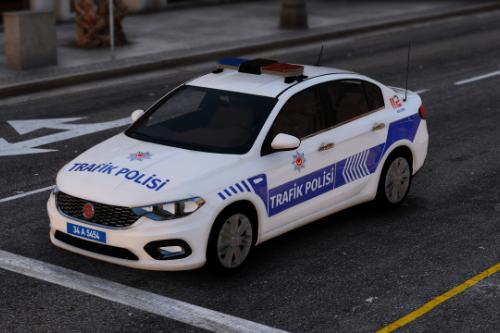 Fiat Egea Trafik Polisi Turkish Police