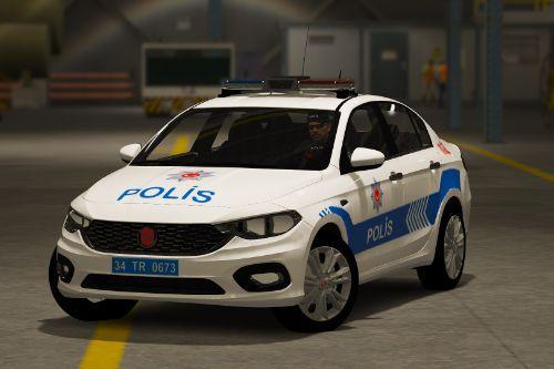 FIAT Egea turkish police car  [Replace][ELS]
