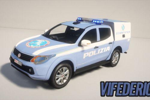 Fiat Fullback | Polizia Scientifica [Add-On / Replace | ELS]