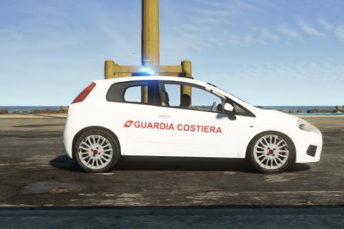 FIAT Grande Punto Guardia Costiera Paintjob