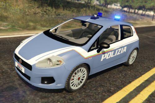 Fiat Grande Punto Polizia di stato [Replace | ELS]