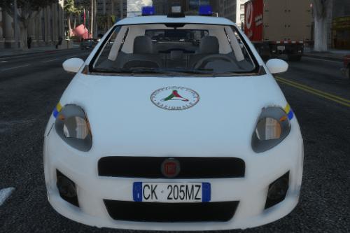 FIAT Grande Punto Protezione Civile Paintjob