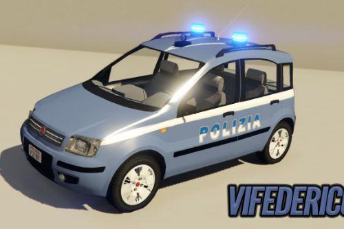 Fiat Panda 2004 - Polizia di stato [ELS]