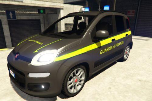Fiat Panda Guardia di Finanza - Finance Police | Reskin [ELS]