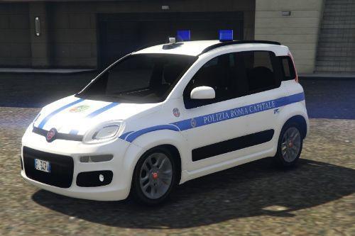 Fiat Panda Polizia Roma Capitale