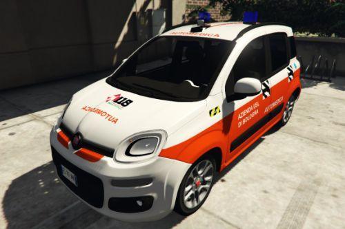 Fiat Panda Soccorso Sanitario 118 - Azienda USL | Emilia Romagna | Reskin [ELS]