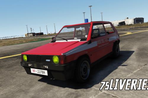Fiat Panda - Vigili Del Fuoco 115 (Paintjob | FiveM)