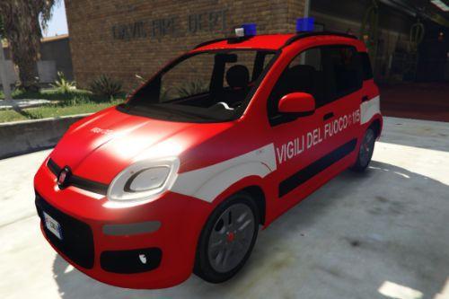Fiat Panda Vigili Del Fuoco - VVF | Reskin [ELS]