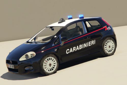 Fiat Punto - Carabinieri