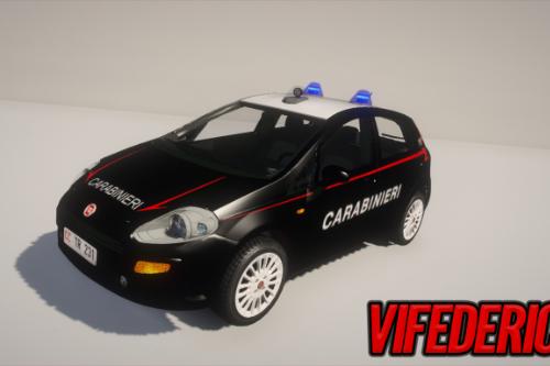 Fiat Punto Evo - Carabinieri [ELS]