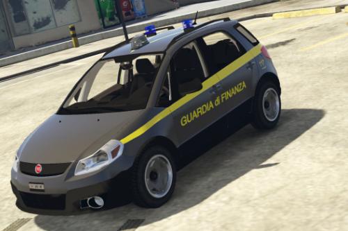 Fiat Sedici - Guardia di Finanza | Paintjob