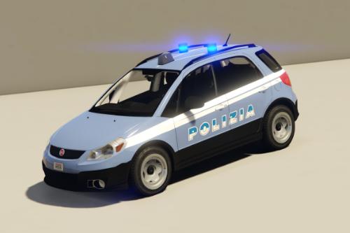Fiat Sedici Polizia Di Stato [RESKIN]